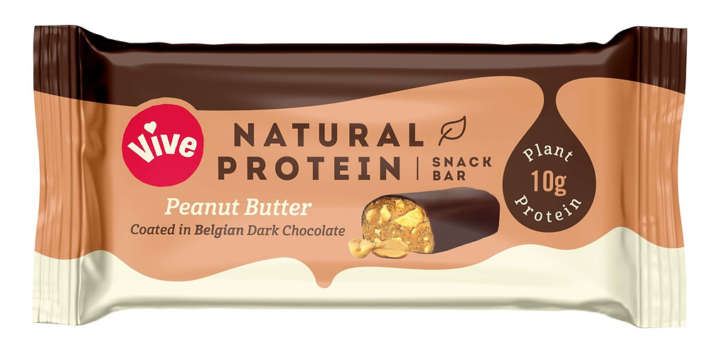 Vive Protein Bars Peanut Butter