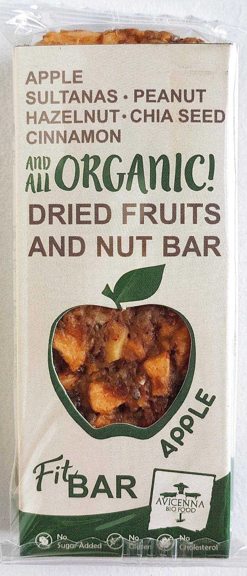 Avicenna Bio Food Fit Bar Apple
