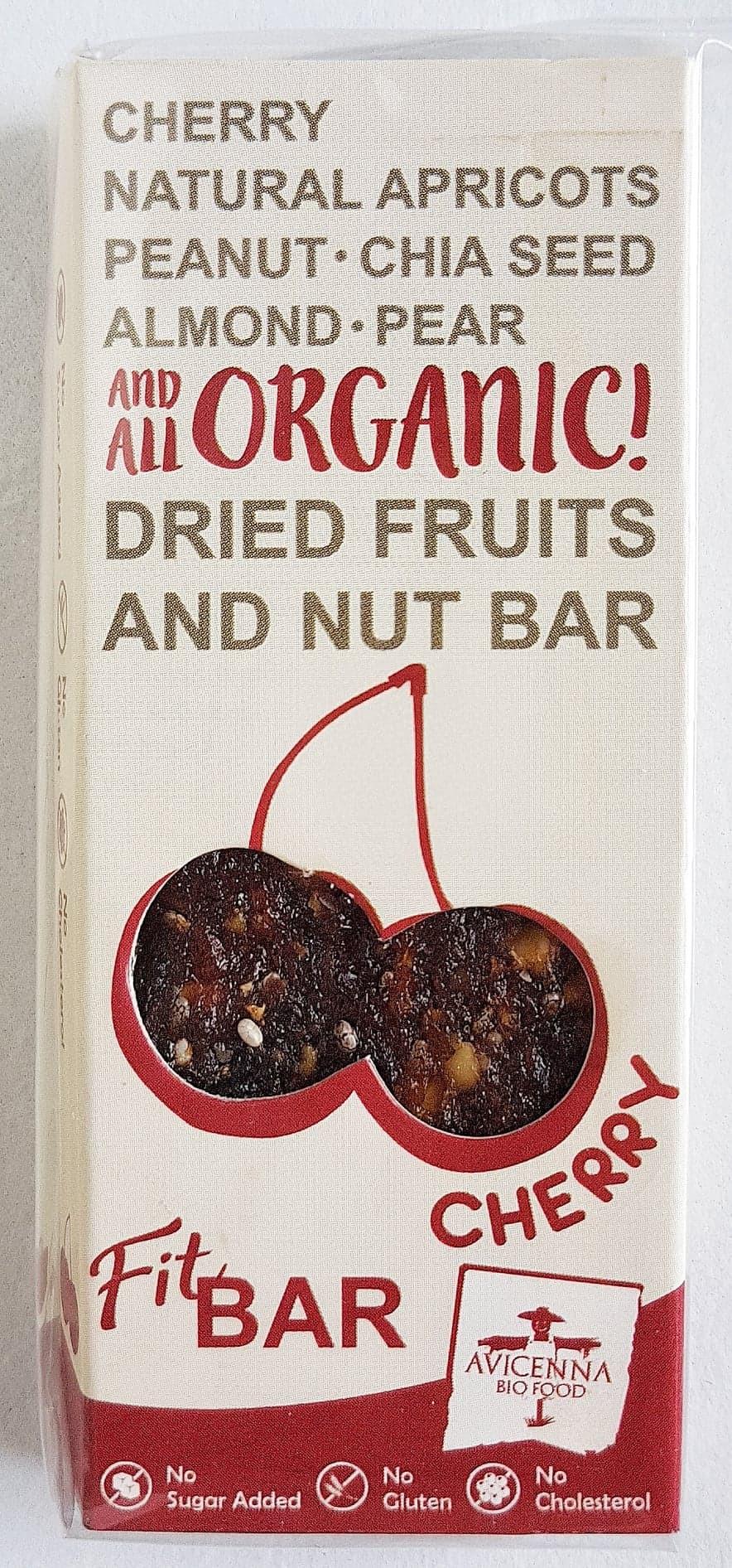 Avicenna Bio Food Fit Bar Cherry