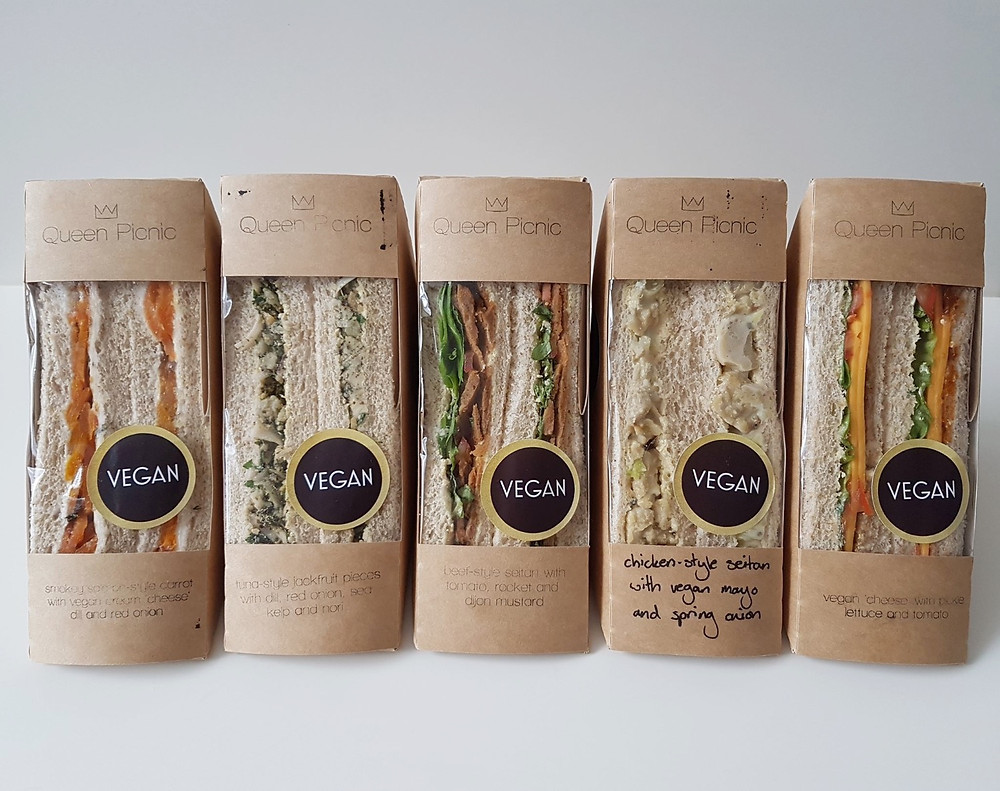 Queen Picnic Vegan Sandwiches