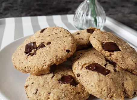 Gluten Free Choc Chunk Oat Cookies