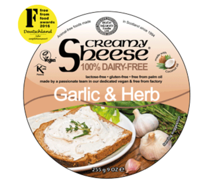 Bute Island Foods Ltd Garlic & Herb Cream Cheese