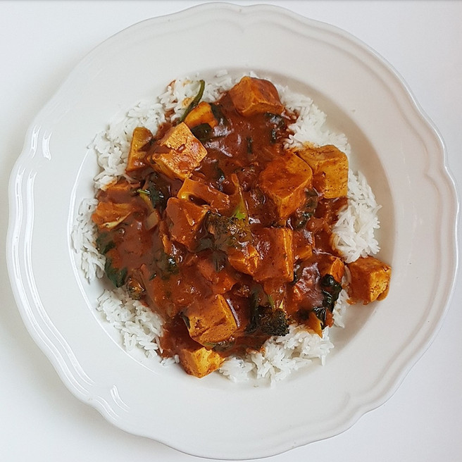 "Vegan ""Butter Chicken"""