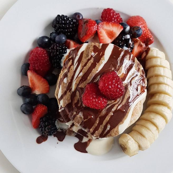 Oat & Buckwheat Pancakes