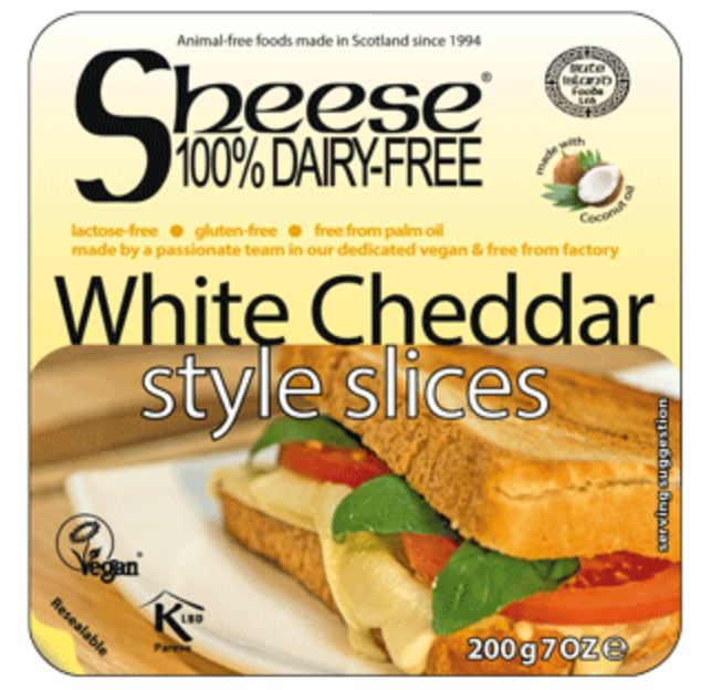 Bute Island Foods Ltd White Cheddar Style Cheese