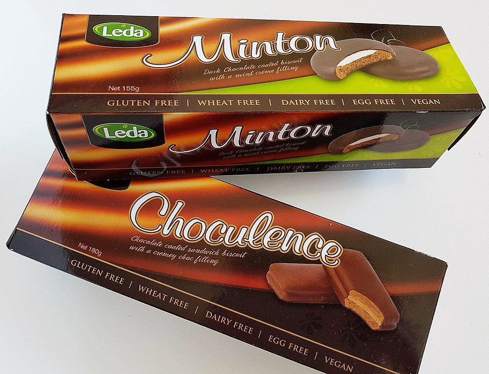 Leda Choculence and Minton (Vegan Tim Tam & Mint Slice)