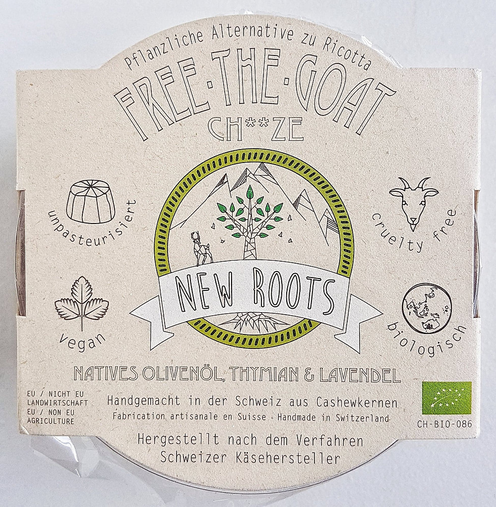 New Roots Vegan Cheese Natives Olivenöl Thymian & Lavendel