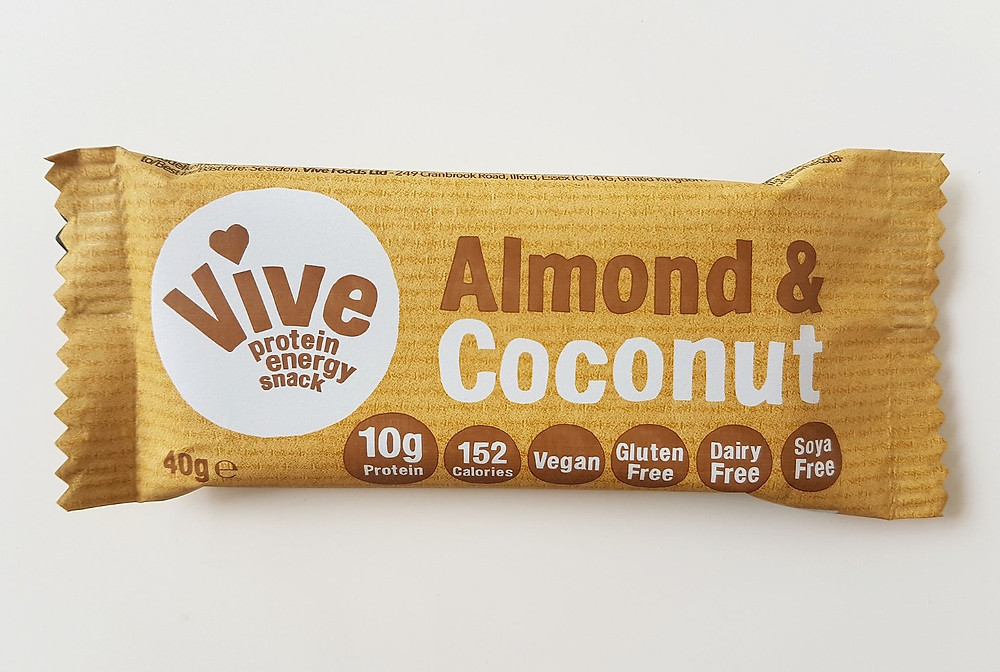 Vive Protein Bars Almond & Coconut