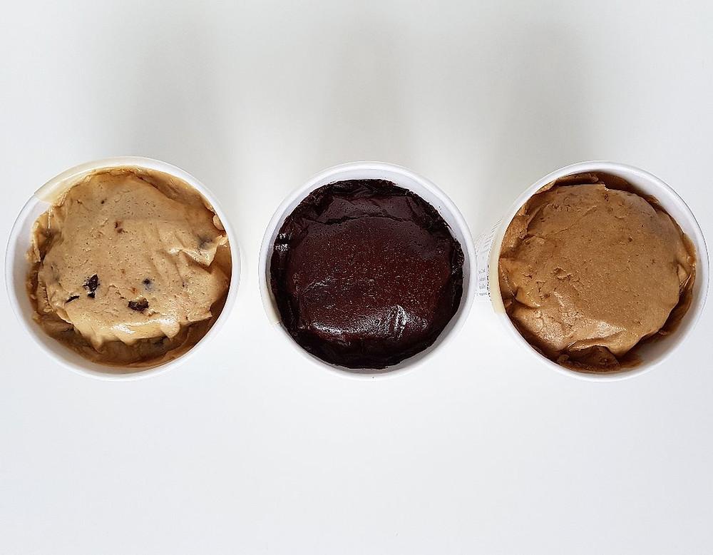 angels and cookies - vegan cookie dough