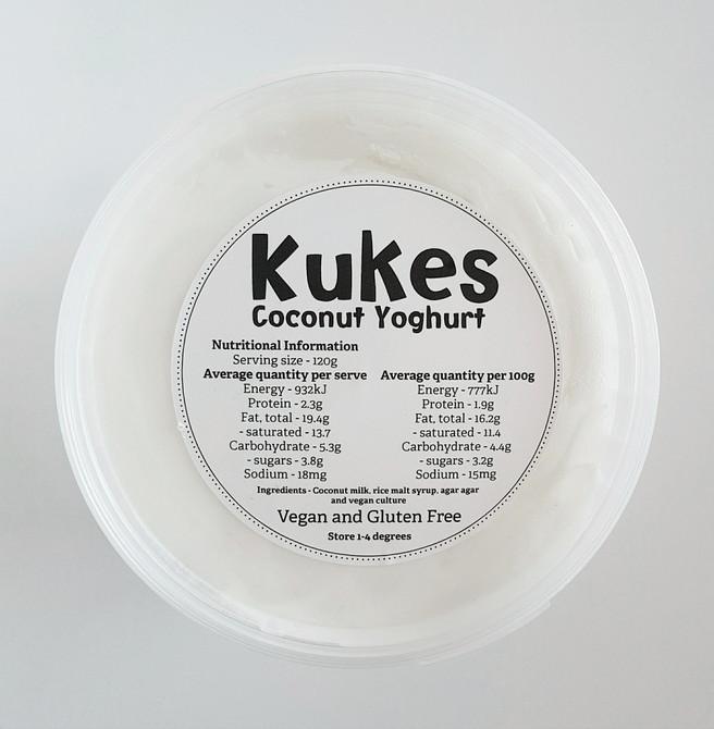 Kukes Coconut Yoghurt
