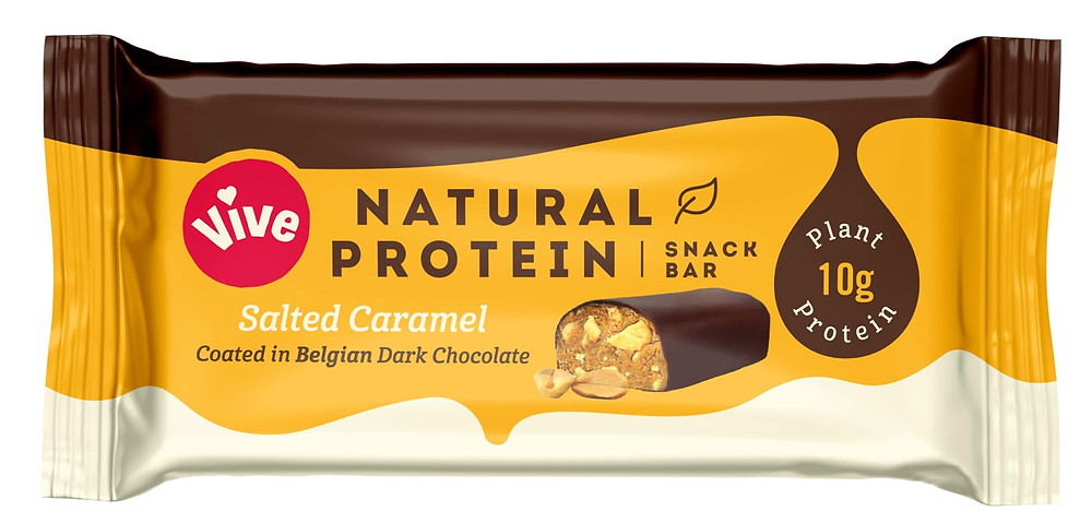 Vive Protein Bars Salted Caramel