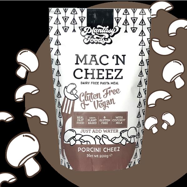 Plantasy Foods Mac 'n Cheez Porcini Cheez