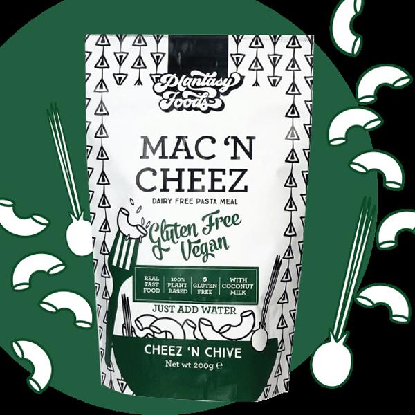 Plantasy Foods Mac 'n Cheez Cheez 'n Chive