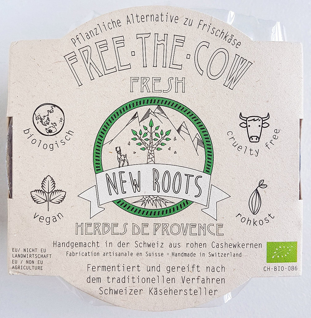 New Roots Vegan Cheese Herbes De Provence