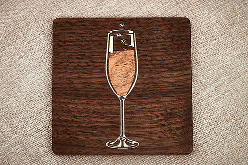 Sparkling Wine Coaster