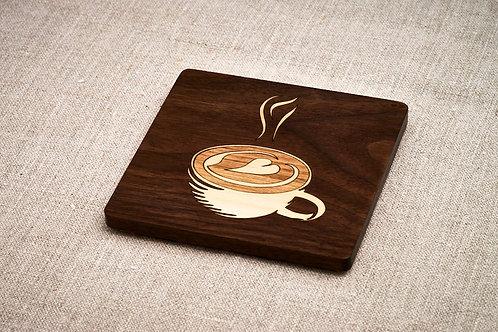 Cappuccino Coffee Coaster