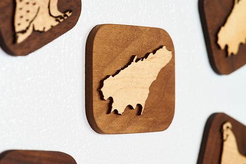 Amherst Island Fridge Magnet