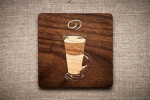 Latte Coffee Coaster