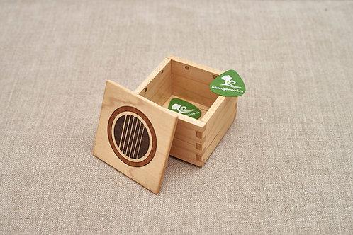 Guitar Pick Box – Acoustic Sound Hole