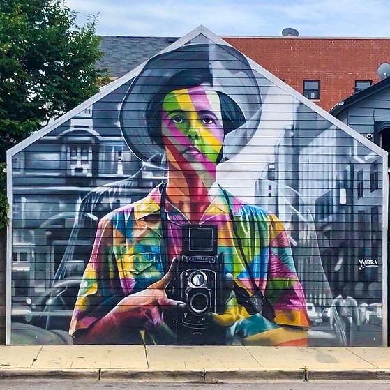 Vivian Maier Mural