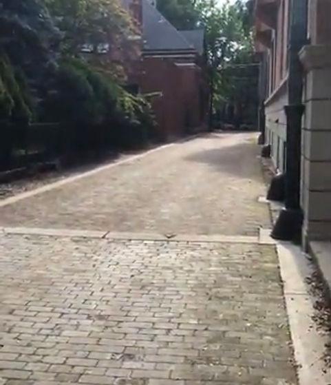Wooden Block Alley