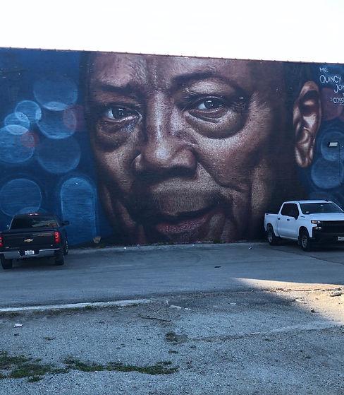 Quincy Jones Mural