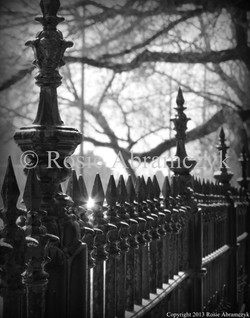 Fence at Lafayette Square Park, St