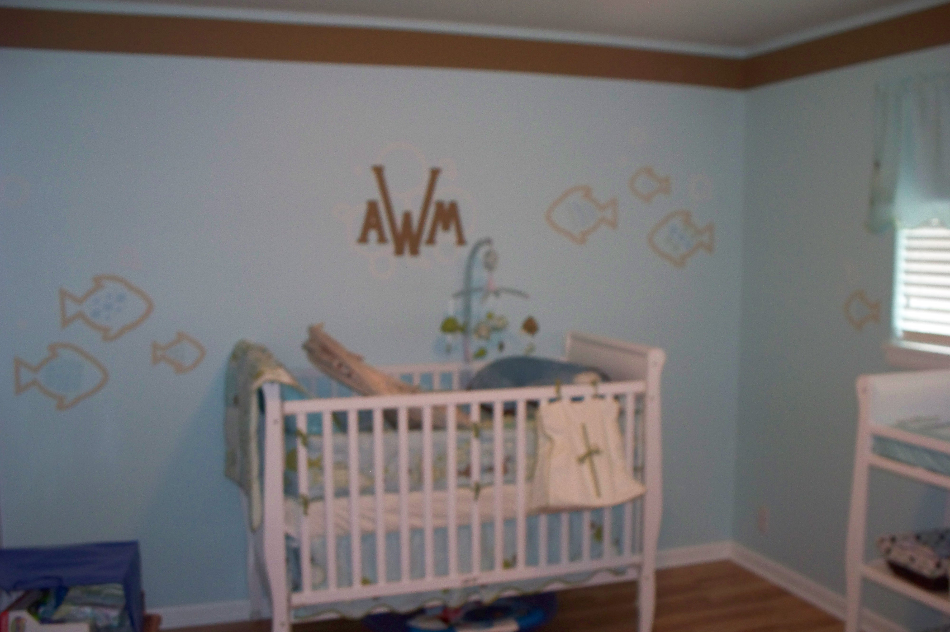 Nursery Mural, Abramczyk