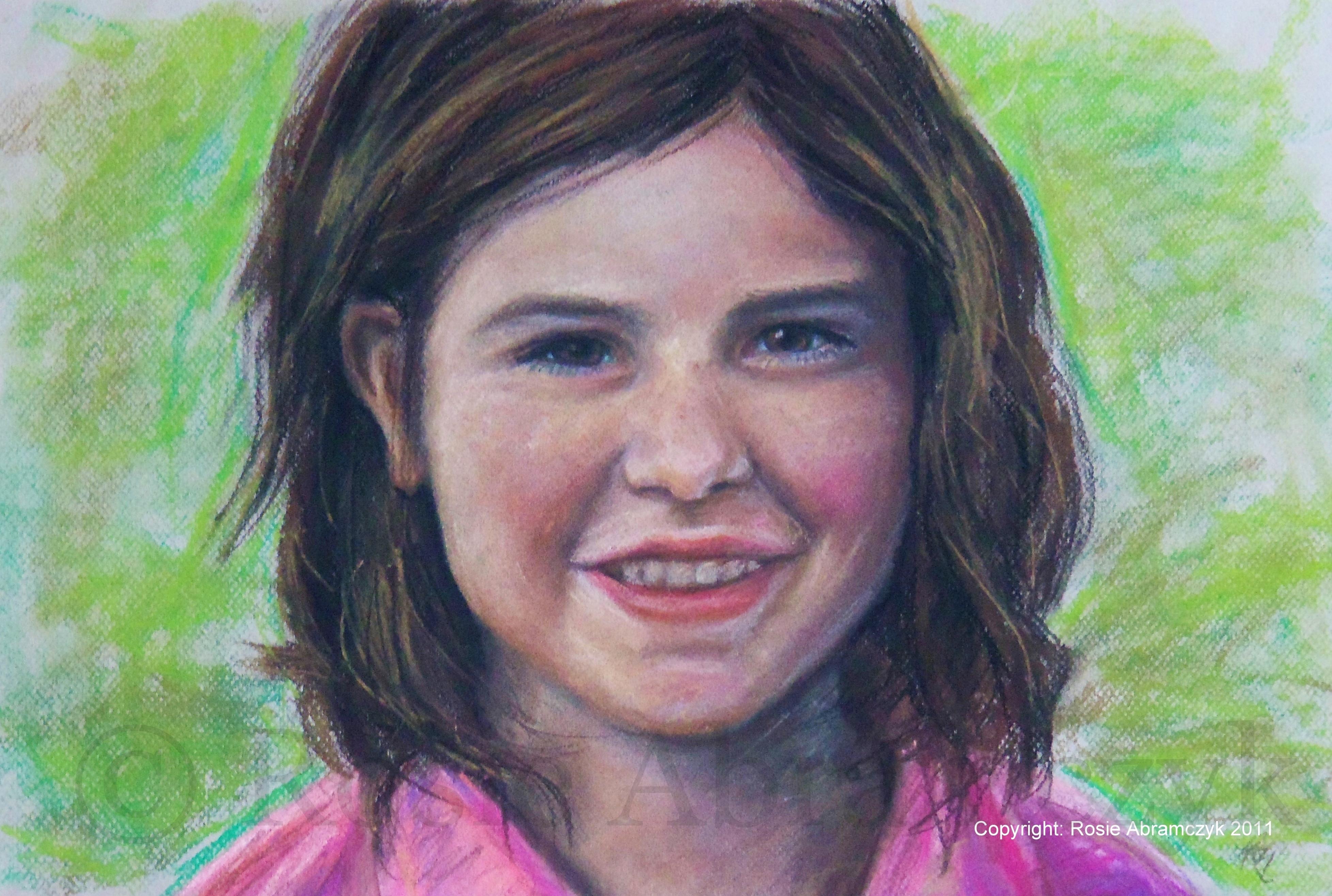 Jessica, by Rosie Bromeier-Abramczyk, Pastels, 2007