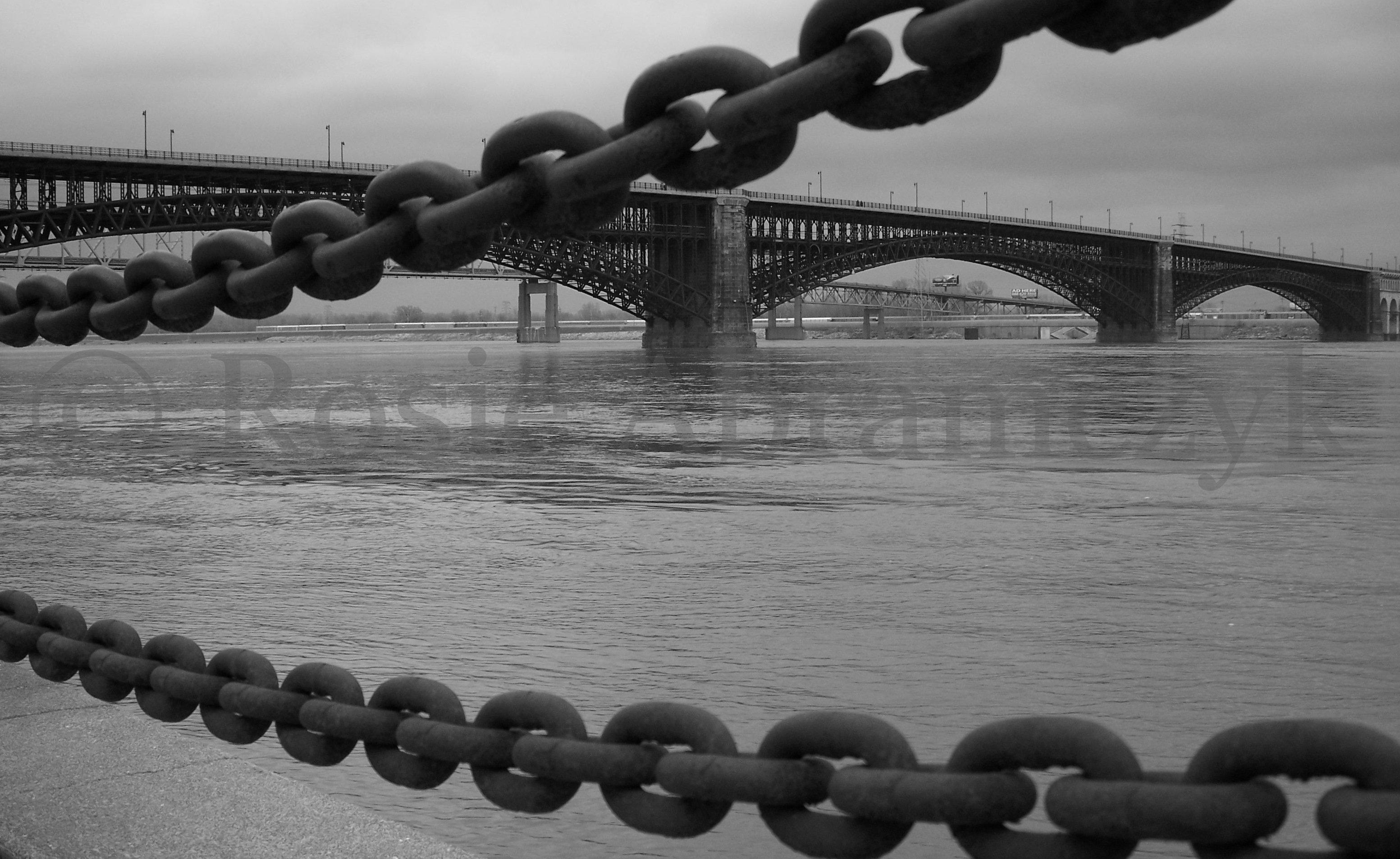 Eads Bridge, St. Louis, MO, By Rosie Abramczyk, Photo, 2008