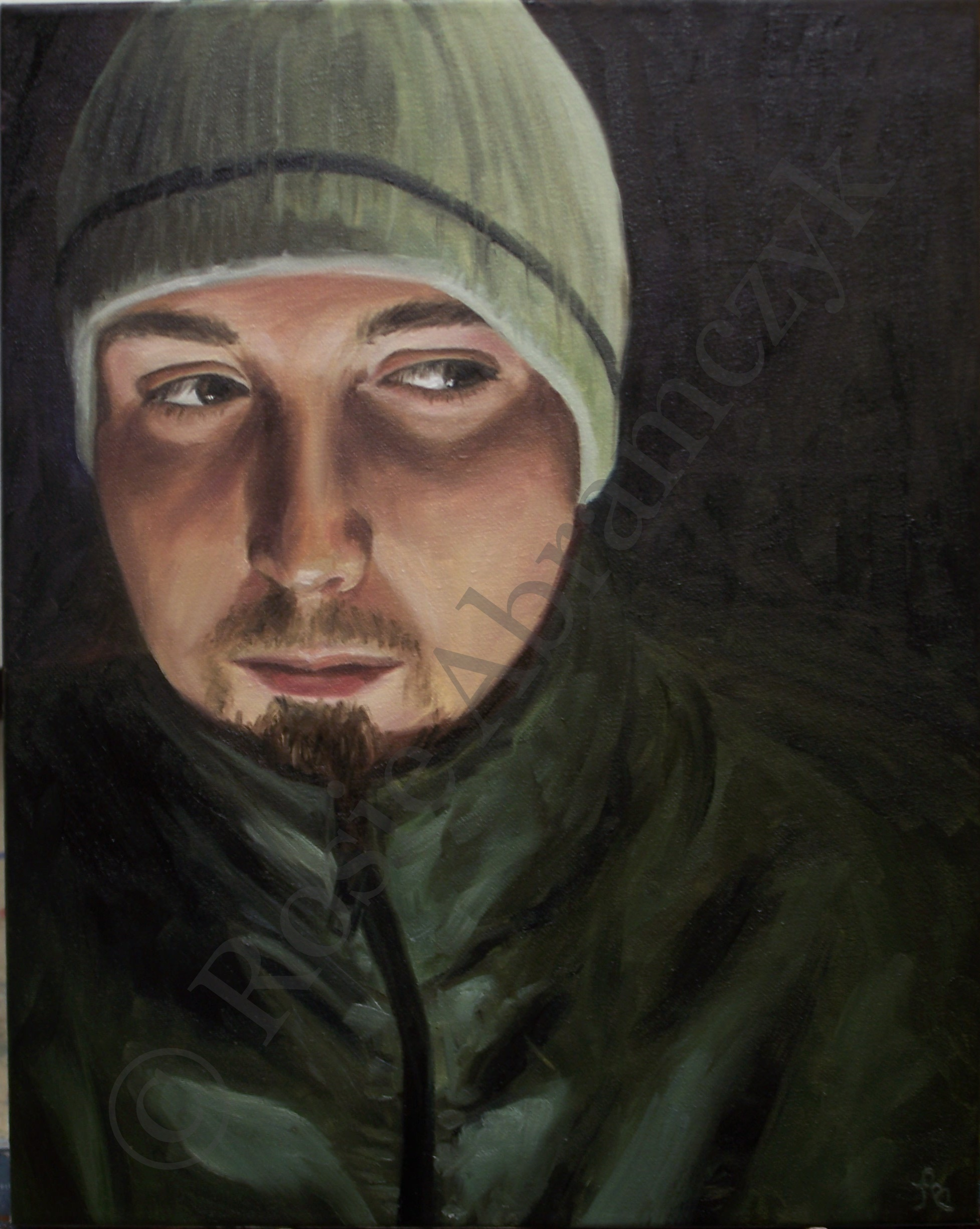 The Dark Side of Stuart, by Rosie Bromeier-Abramczyk, Oil Paint, 2007
