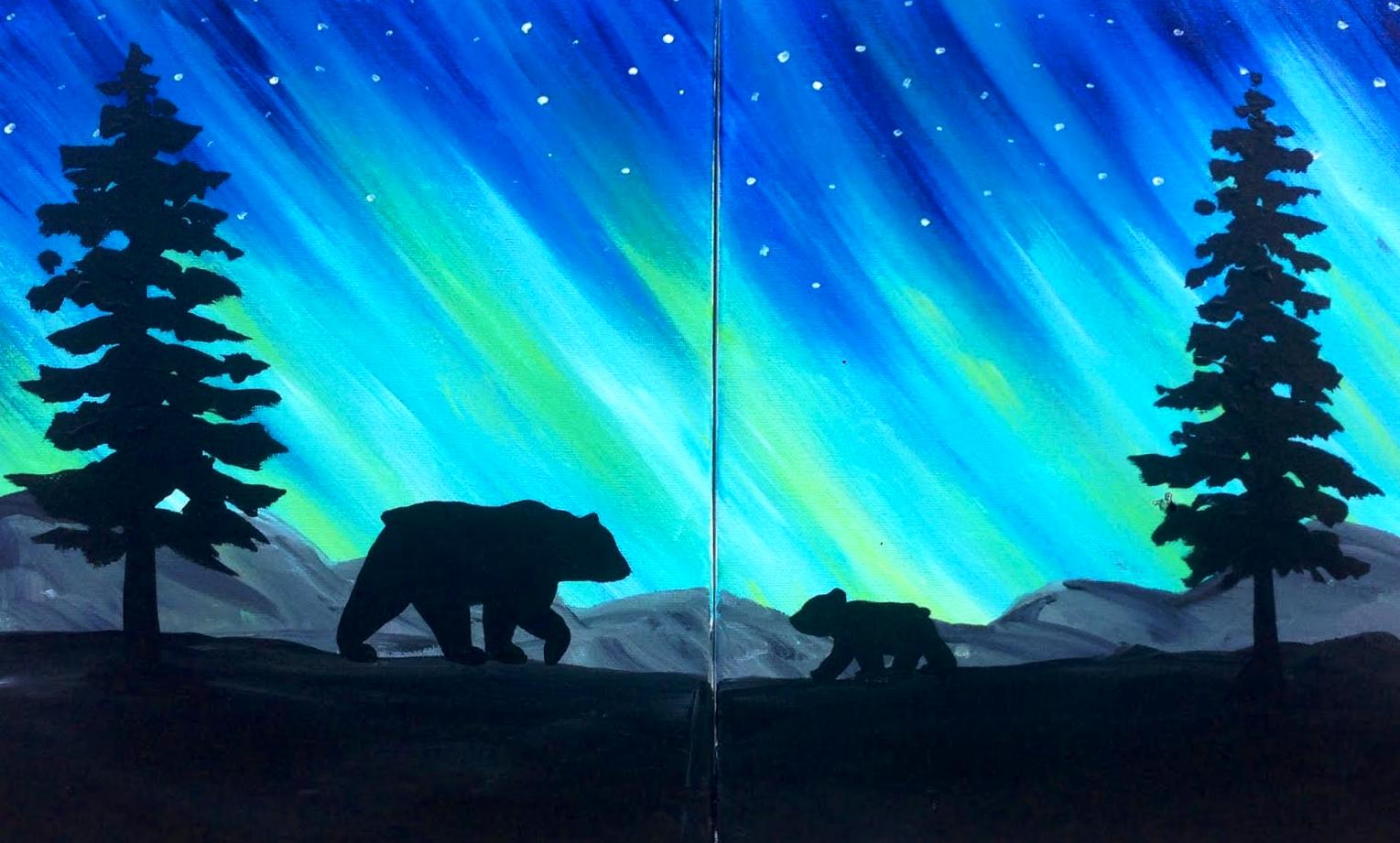 Bear Paint Class