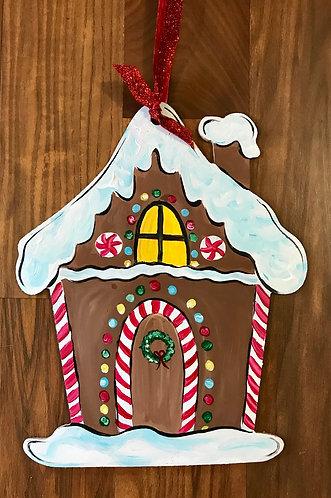 Kids DIY Gingerbread House