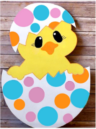 Kids Easter Chick