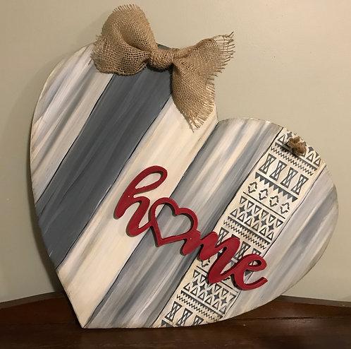 DIY Home Heart