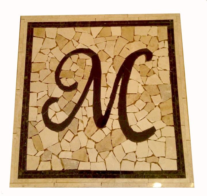 Custom Marble Letter