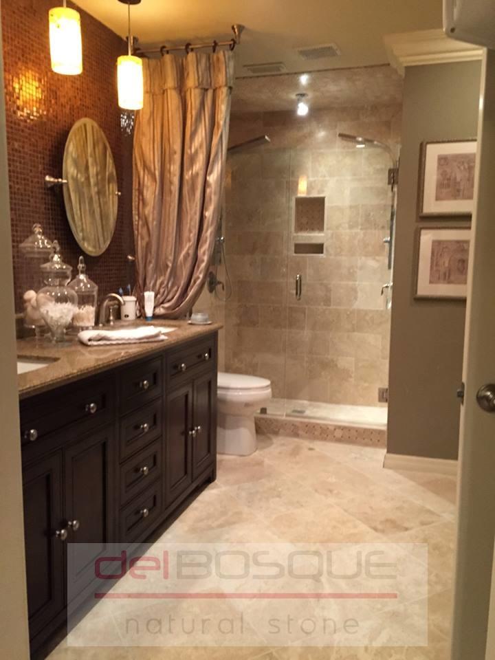 Durango Travertine Bathroom