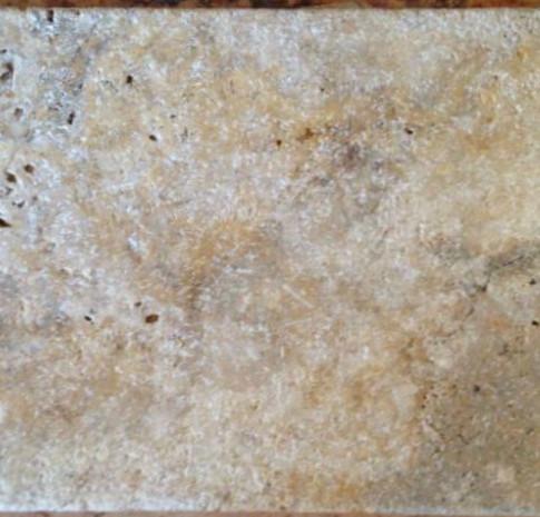 Gold Travertine Rustic Tile