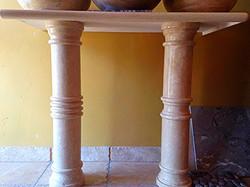 Travertine Stone Columns