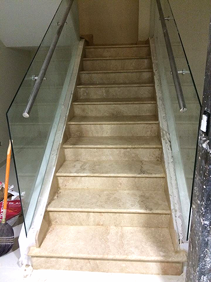 Stone Travertine Stairs