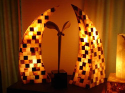 Onyx Ornamnents with Light