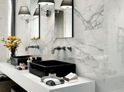 Black marble Sinks