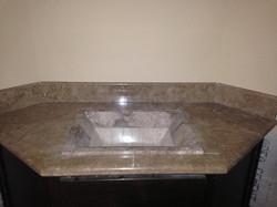 Travertine Undermount Stone Sink