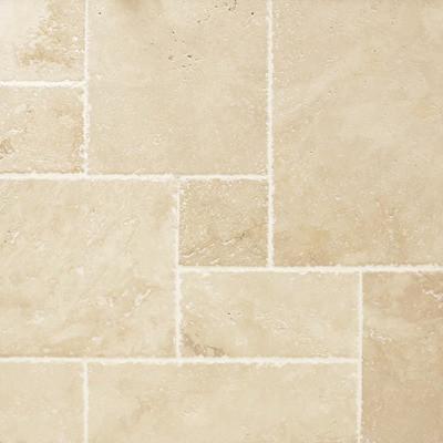 "Versailles Pattern ""Ivory"" Chiseled edge"