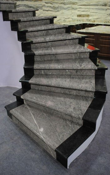 Gray Marble Stairs