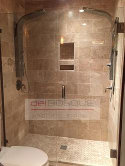 Durango Travertine Shower