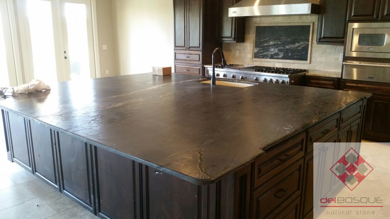 Leather Granite Countertop