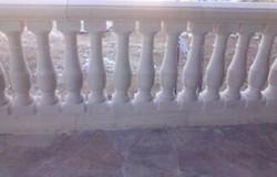 Cream Travertine Balustrades