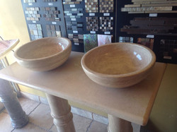 Travertine Bowl Stone Sink