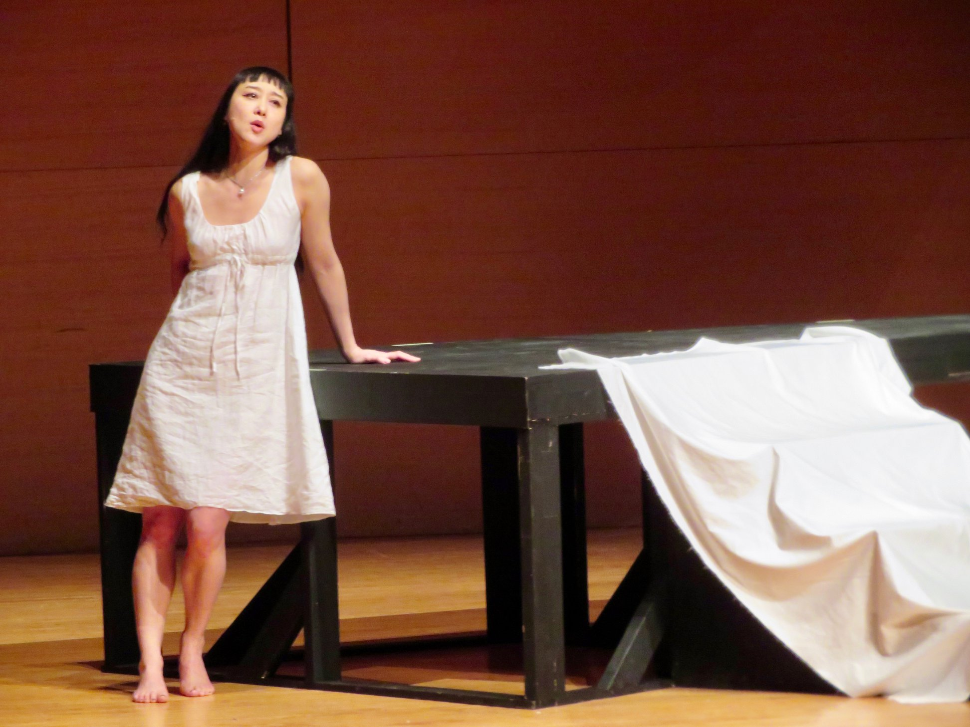 Moon in the Mirror, an Operatic Monodrama